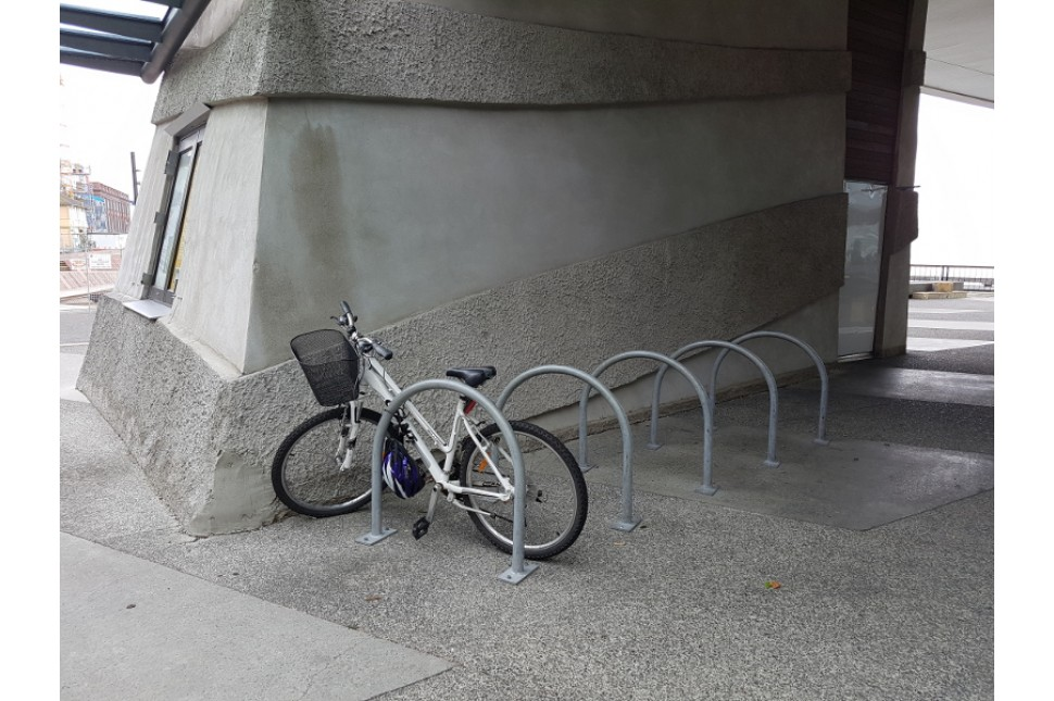 Vanguard Single Hoop Bike Rack 2