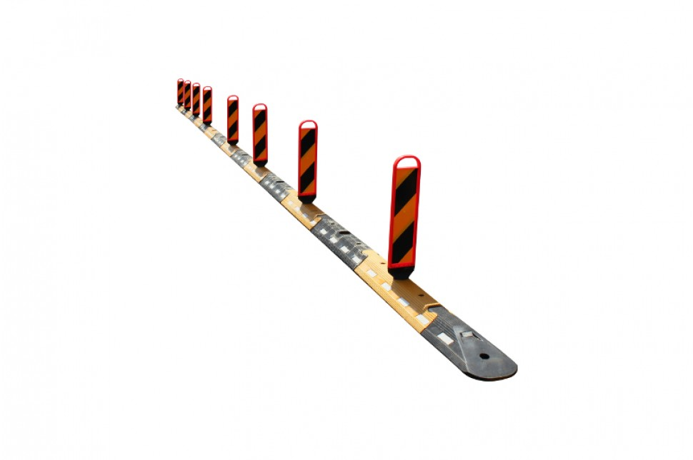 Vanguard Flexible Interlocking Traffic Separator System 10