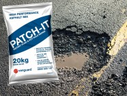 Vanguard patch it road repair asphalt in a bag 1