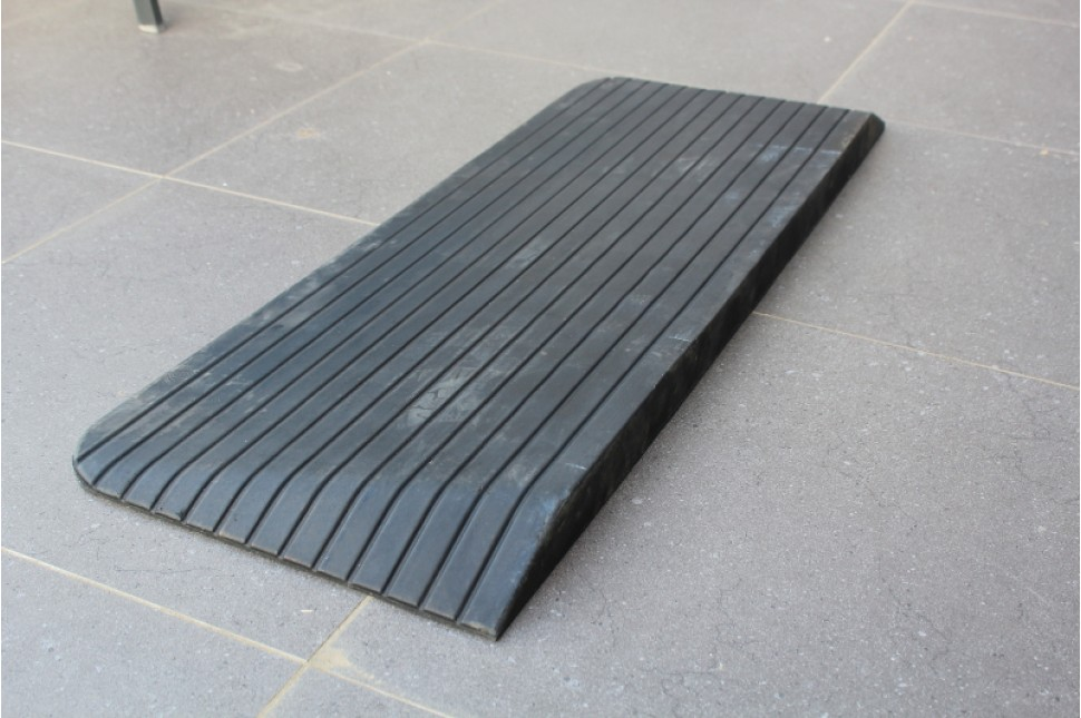 Rubber Access Ramp 2