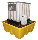 ibc spillpallet single stackable