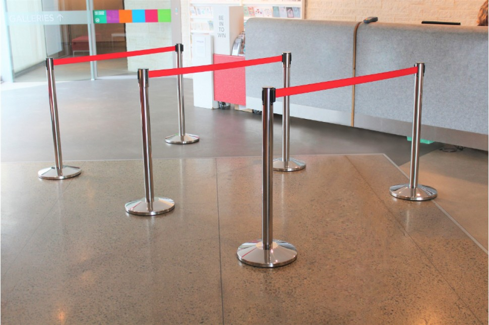 Vanguard Retractable Queuing Stanchions 7