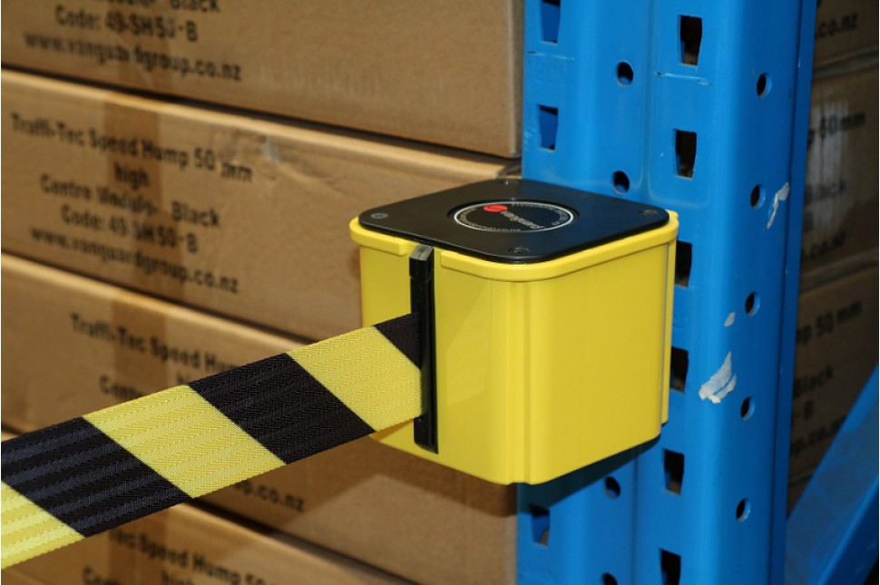 Vanguard Wall Mount Belt Yellow Casing 6 9m unit 2