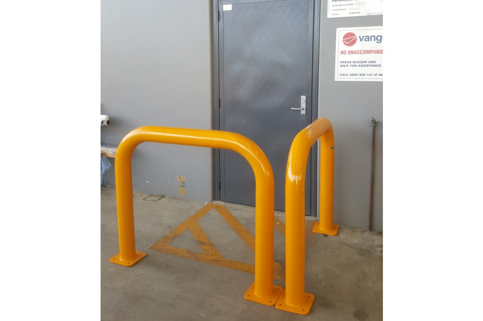 Vanguard Machinery Guard Steel Hoop Bollard 3