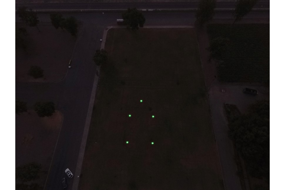 Pi Lit Helicopter Landing Zone Flare 4