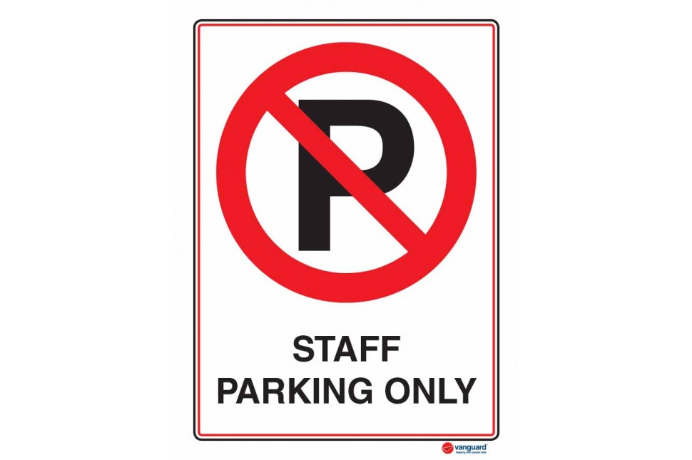 6118 Staff Parking Only