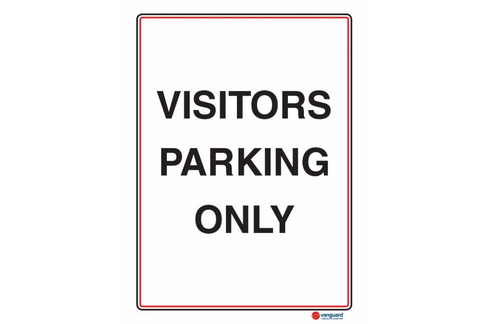 6138 Visitors Parking Only