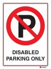 6116 Disabled Parking Only