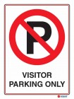 6117 Visitor Parking Only