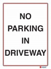 6124 No Parking In Driveway