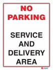 6127 No Parking Service And Delivery Area
