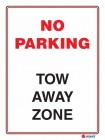 6128 No Parking Tow Away Zone
