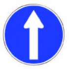 Direction Arrow Straight