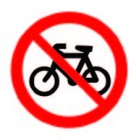 No Bicycles Symbol
