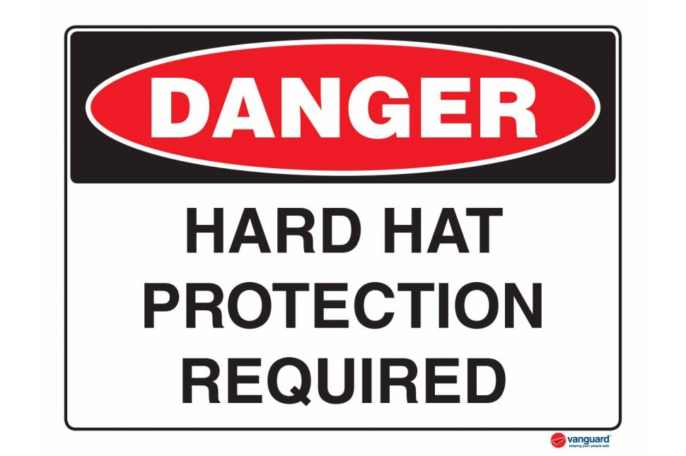 1026 Hard Hat Protection Required