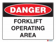 1020 Forklift Operating Area