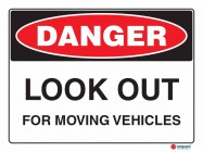 1030 Look Out For Moving Vehicles