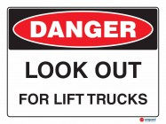 1032 Look Out For Lift Trucks