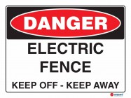 1085 Electric Fence Keep Off Keep Away