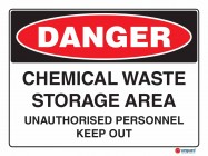 1132 Chemical Waste Storage Area