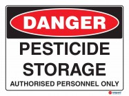1149 Pesticide Storage Authorised Personnel Only