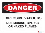 1202 Explosive Vapour No Smoking