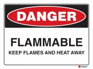 1204 Flammable Keep Flames And Heat Away