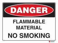 1206 Flammable Material No Smoking