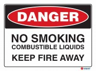 1213 No Smoking Combustible Liquids