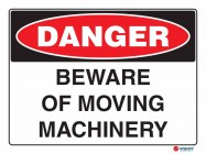 1288 Beware Of Moving Machinery