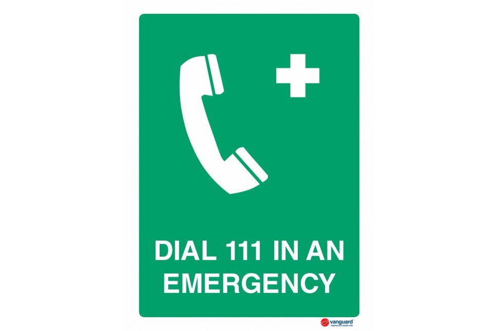 4504 Dial 111 In An Emergency