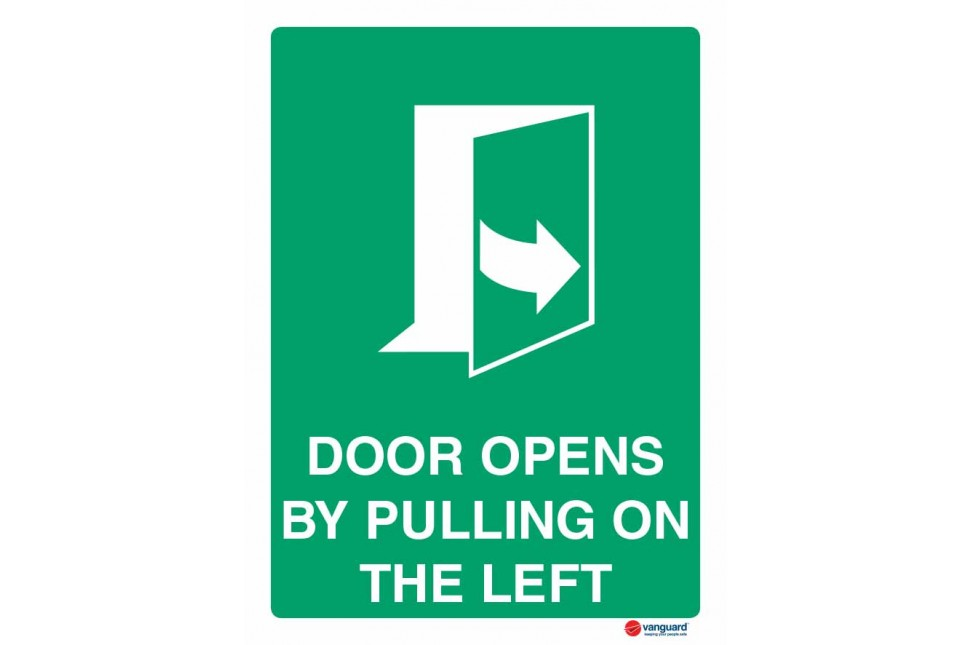 4544 Door Opens By Pulling On The Left