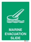 4539 Marine Evacuation Slide