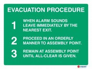 4608 Evacuation Procedure When Alarm Sounds