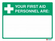 4623 Your First Aid Personnel Are