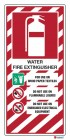 4801 Water Fire Extinguisher