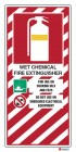 4804 Wet Chemical Fire Extinguisher