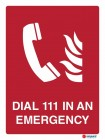 4853 Dial 111 In Case Of Emergency