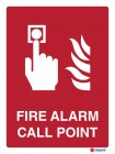 4861 Fire Alarm Call Point