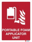 4864 Portable Foam Applicator Unit