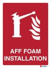 4870 AFF Foam Installation