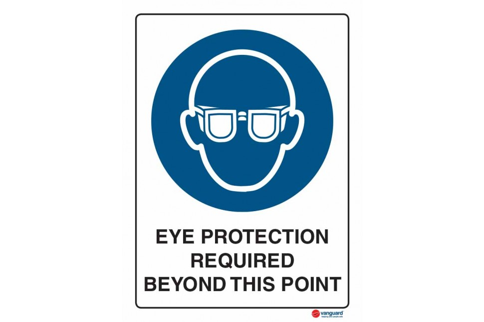 2003 Eye Protection Required Beyond This Point