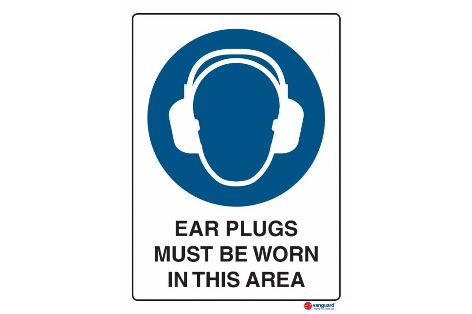 2010 Ear Plugs Must Be Worn In This Area