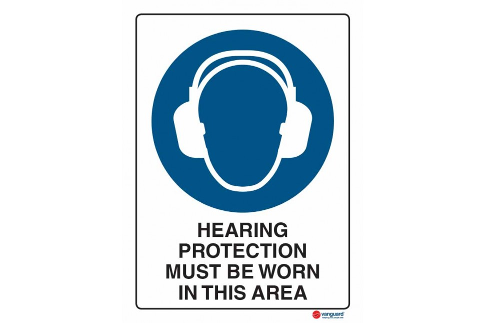 2011 Hearing Protection Must Be Worn In This Area