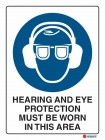 2008 Hearing And Eye Protection Must Be Worn In This Area