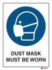 2013 Dust Mask Must Be Worn