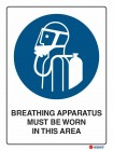 2016 Breathing Apparatus Must Be Worn In This Area