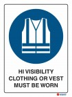2020 High Visibility Clothing Or Vest Must Be Worn