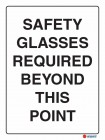 2062 Safety Glasses Required Beyond This Point