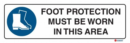 2303 Foot Protection Must Be Worn In This Area